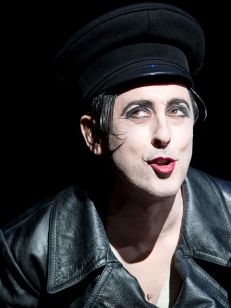 Alan Cumming in Cabaret...just saw this on Broadway!  He was fabulous!