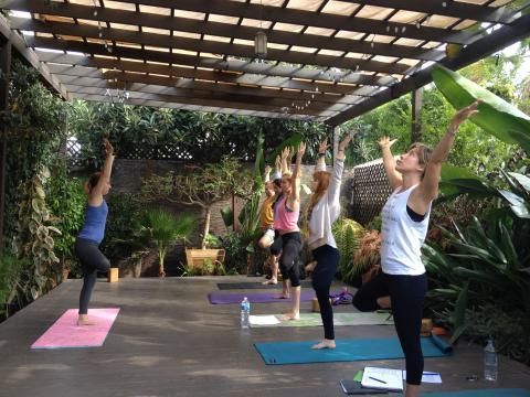 62 best images about yoga house on pinterest yoga room for Garden yoga rooms