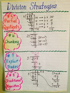 186 best images about division on Pinterest | Long division ...