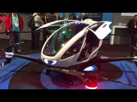 Presentado en Dubái el primer coche volador (vídeo)