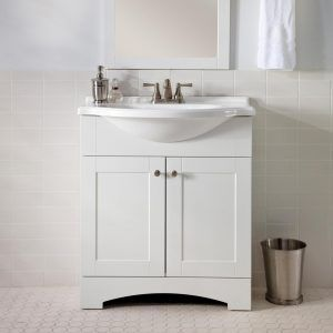 Pictures Of Small Bathrooms With White Vanity