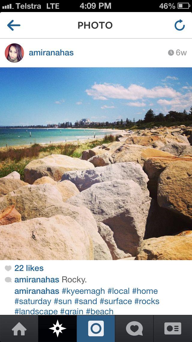 Great shot of #Kyeemagh Beach via @amiranahas Instagram. #beach #mcgrathstgeorge