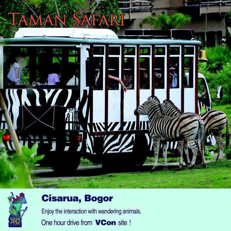 For a short break after #VIND12, visit Taman Safari!