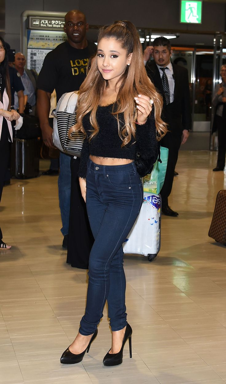Ariana Grande is rarely ever seen without her sky-high heels. Try hard to think of a time she was spotted not wearing a pair of these shoes and...