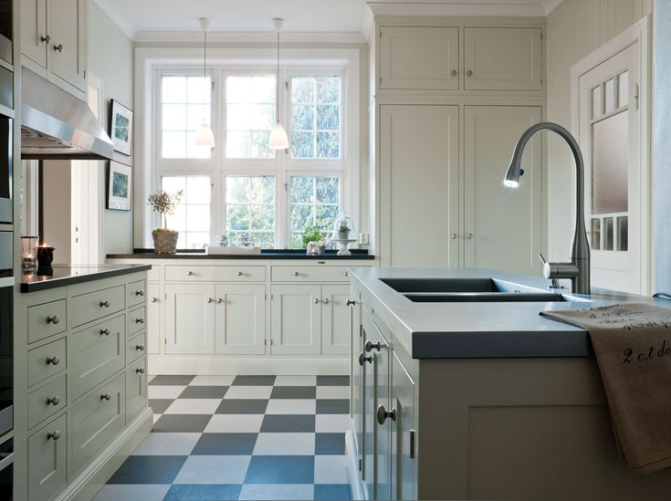 Traditional Swedish kitchen by Kvänum