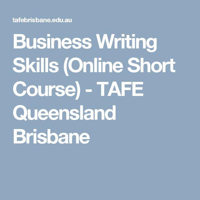 Business Writing Skills (Online Short Course) - TAFE Queensland Brisbane