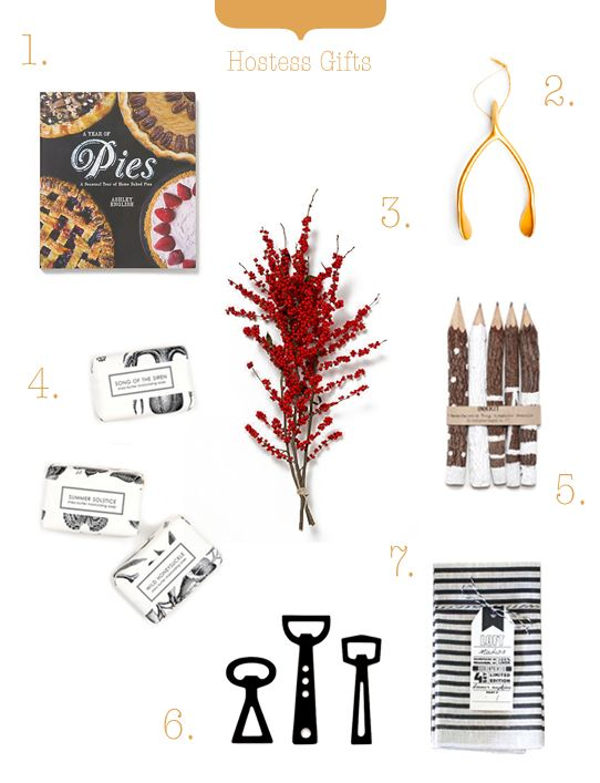 Perfect Hostess Gifts by The Marion House Book!