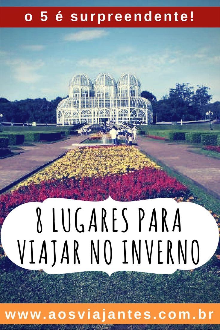 Dicas de viagem para cidades de inverno no Brasil! Tem no nordeste, tem no sul também! #viagem #inverno #gramado #curitiba