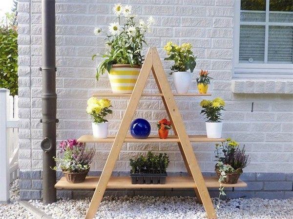 Die Besten 25+ Blumenleiter Ideen Auf Pinterest | Ikea Sitzhocker