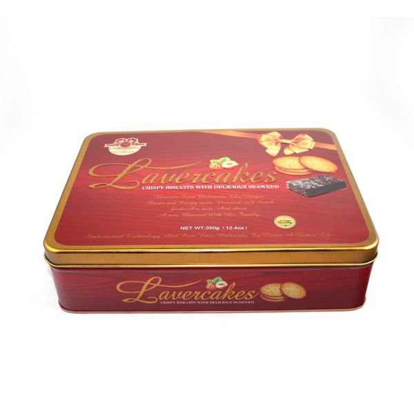 Butter cream biscuit tin boxes