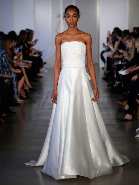Vestidos de novia palabra de honor 2017: ¡El diseño más deseado! Image: 19
