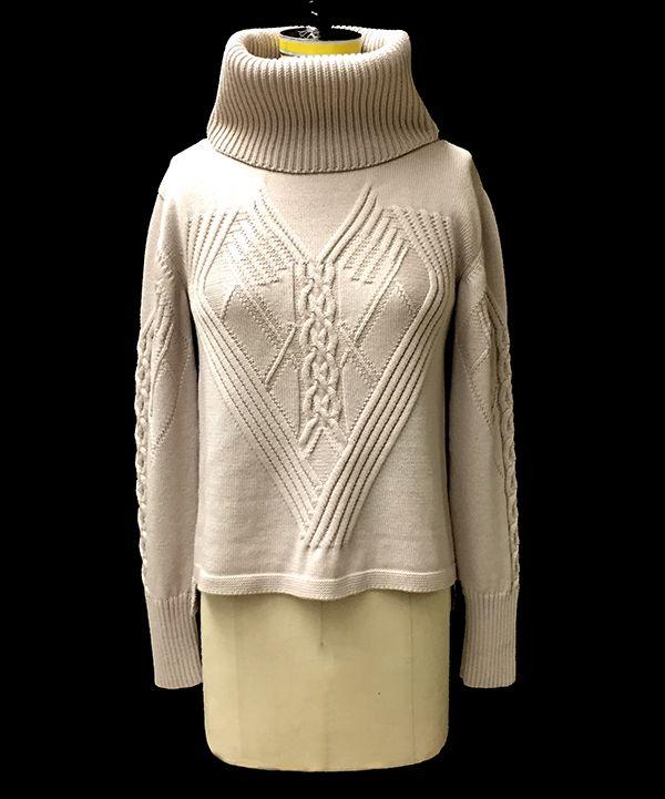 knitGrandeur: FIT & Baruffa 2/30s Cashwool Collaboration: Term Garment Project, Part II