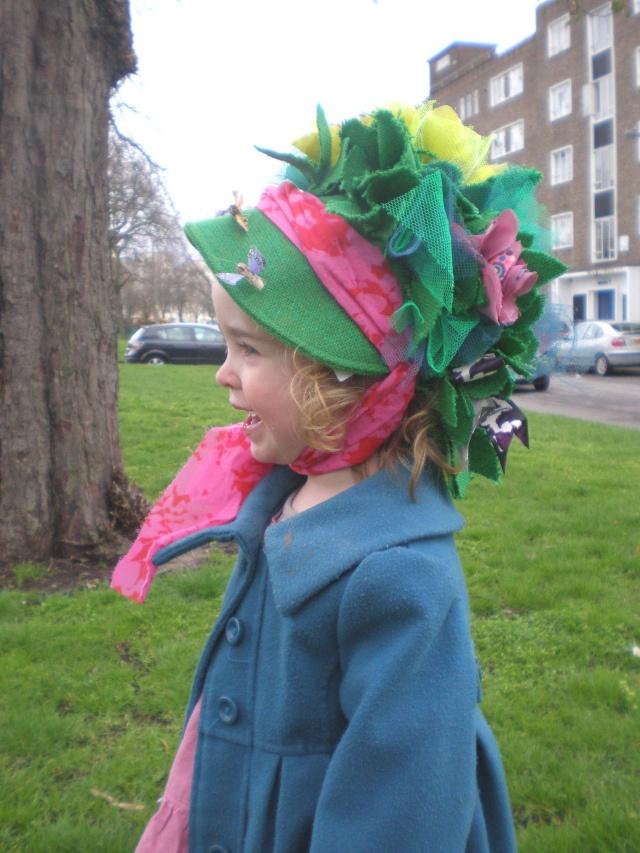 Child's Easter Bonnet