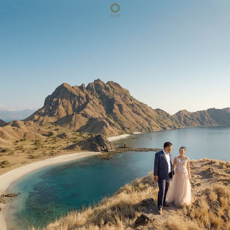 I have late night conversations with the moon, he tells me about the sun and i tell him about you . Courtesy from @adhyanovic & @kartiniayu Prewedding Make up artist by @dininurdianimua Location Padar Island, Labuan Bajo Flores . . Photograph by @alvinfauzie Check our website for the other photos at www.alvinphotography.co.id