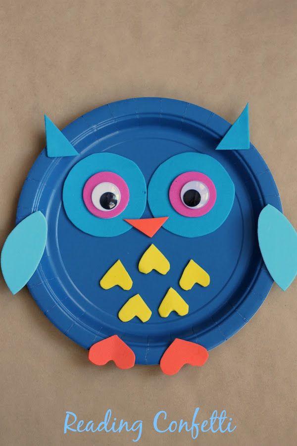 5 manualidades para niños con platos desechables 5 divertidas manualidades para niños con platos desechables. Aprovecha los platos de cartón para hacer manualidades con los niños.