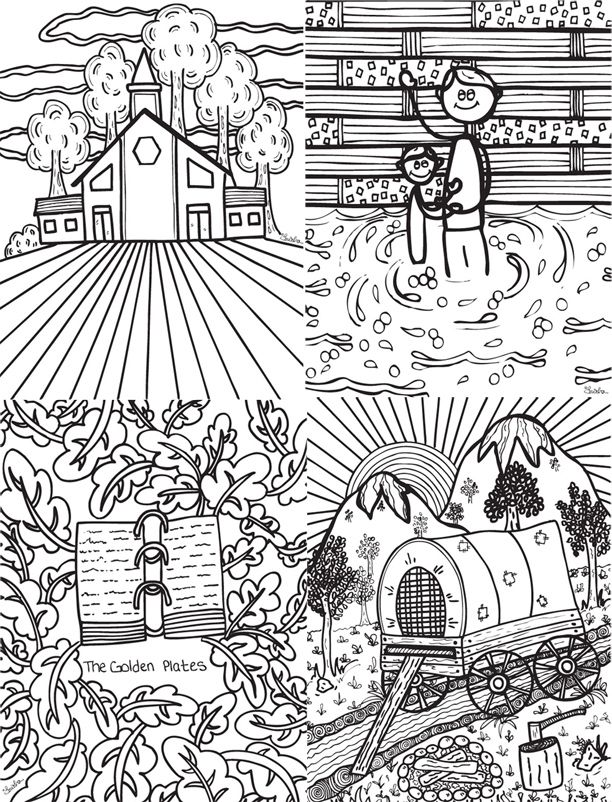 116 best Coloring images on Pinterest Church ideas, Bible - new coloring pages book of mormon