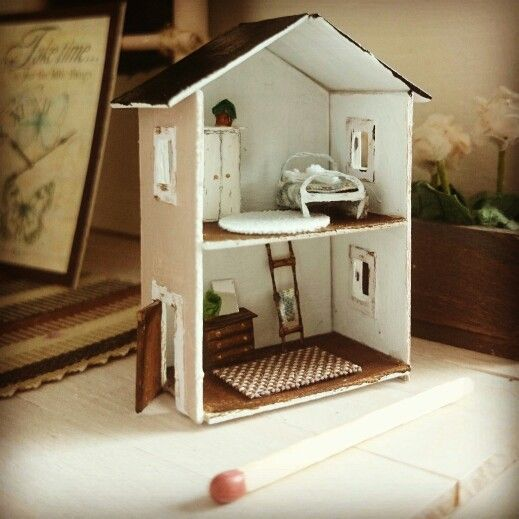 Dollhouse in a dollhouse