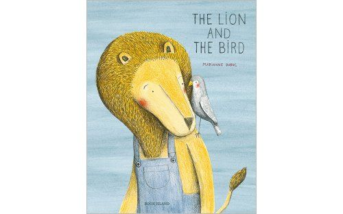 'The Lion and the Bird' by Marianne Dubuc | Published by Book Island -    International bestseller about a lion in dungarees and a bird with a broken wing who form an unlikely friendship when they meet one Autumn day.