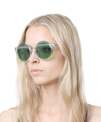 HENRY HOLLAND FOR LE SPECS   MUFFIN TOP IN GREEN AND CLEAR $89: Chops Suey, Suey Factories, Muffins Tops, Henry Holland, Muffin Tops, Hh Muffins, Eye Fancy, Specs Muffins, Tops Sunglasses