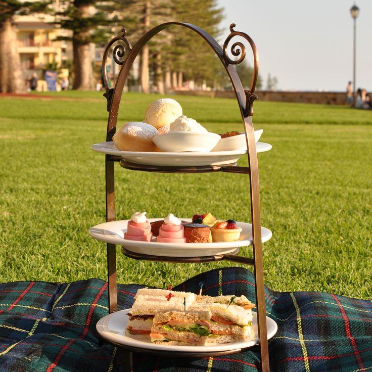High tea from The Promenade, ON the promenade!