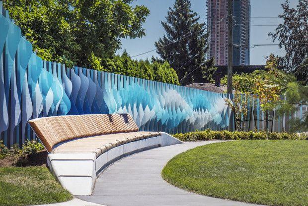 Rite Of Passage Willingdon Linear Park Codaworx Linear Park Parking Design Public Art