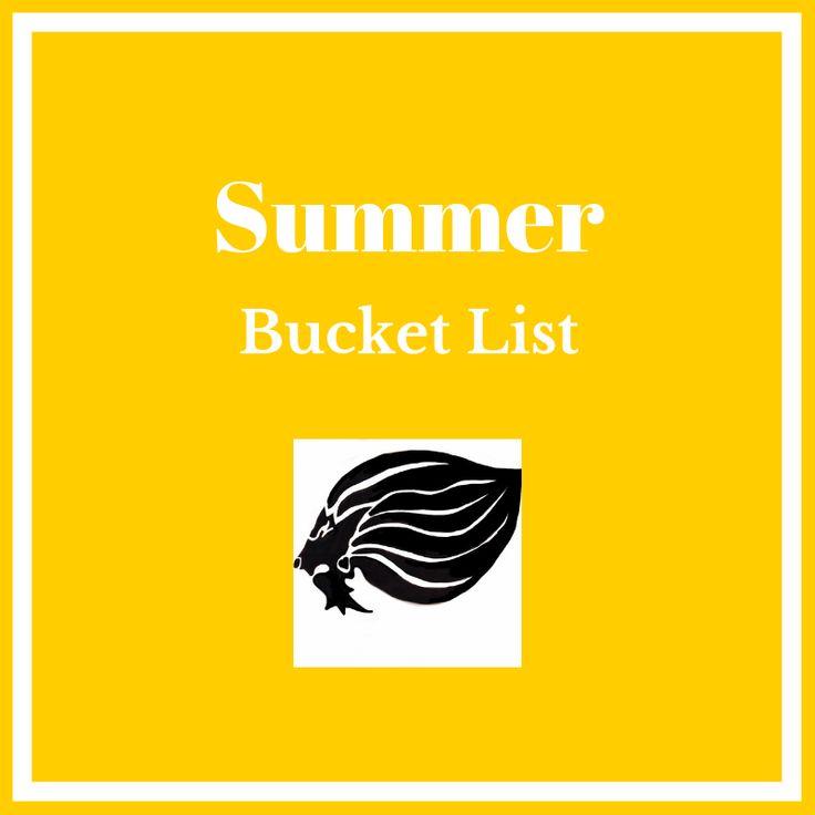 Summer Bucket List Ideas - cover