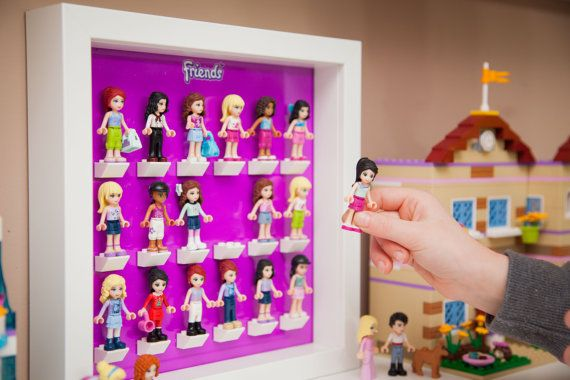 FRIENDS Acrylic insert to hold Lego Minifigures