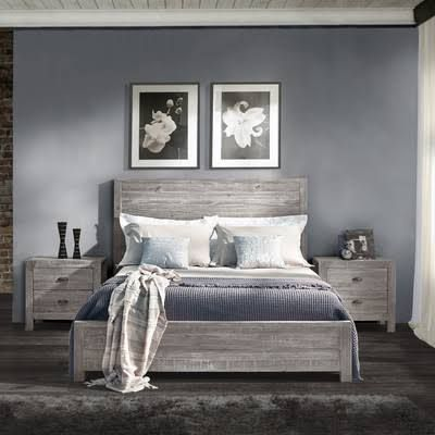 king platform bed southwestern farmhouse - Google Search