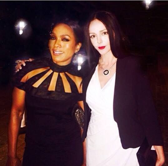 Angela Bassett!!I admire her talent ! I adore her personality !!special meeting at DGA!Despina Mirou