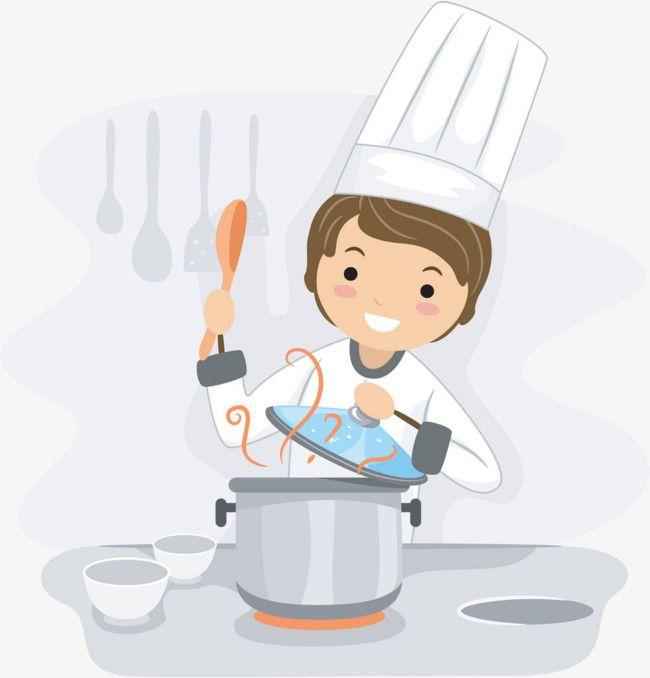 القليل من الطاهي الذي يطبخ فن الطبخ يطبخ كرتون Png والمتجهات للتحميل مجانا Cooking Clipart Cooking Photography Cooking Logo
