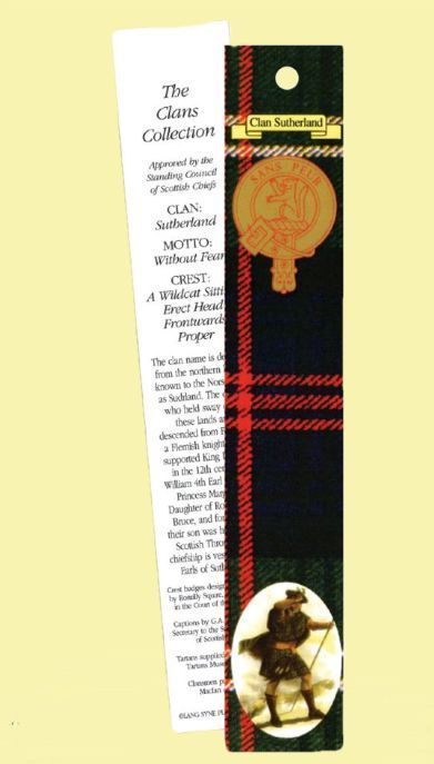 For Everything Genealogy - Sutherland Clan Tartan Sutherland History Bookmarks Set of 2, $3.00 (http://www.foreverythinggenealogy.com.au/sutherland-clan-tartan-sutherland-history-bookmarks-set-of-2/)