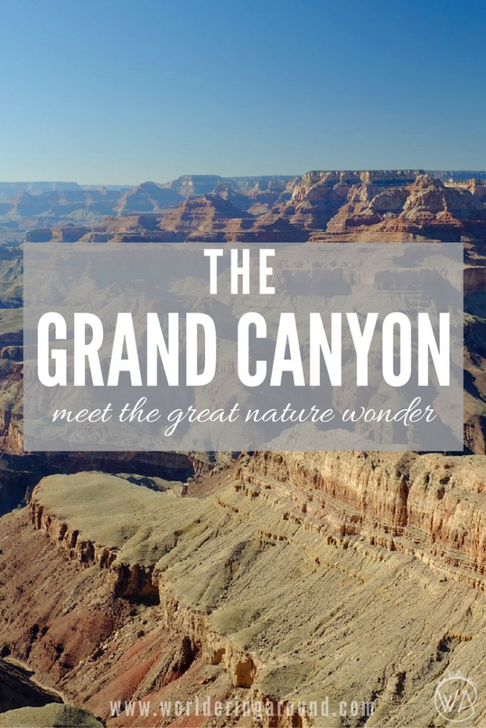 USA - the Grand Canyon - meet the great nature wonder and travel to Grand Canyon!