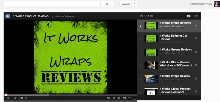 It Works Product Reviews!  Here's a whole playlist of videos about It Works Products so you can learn more!  http://youtube.com/hotmamabodywraps  #skinny #healthy #sexy