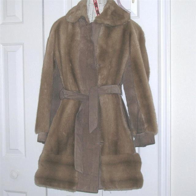 Mod Vintage Lilli Ann UK Suede Leather & Faux Fur Coat Hippie Jacket by NotSewIdle on Etsy