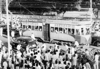 Story on Trams which plied in the city from 1895 to 1953.