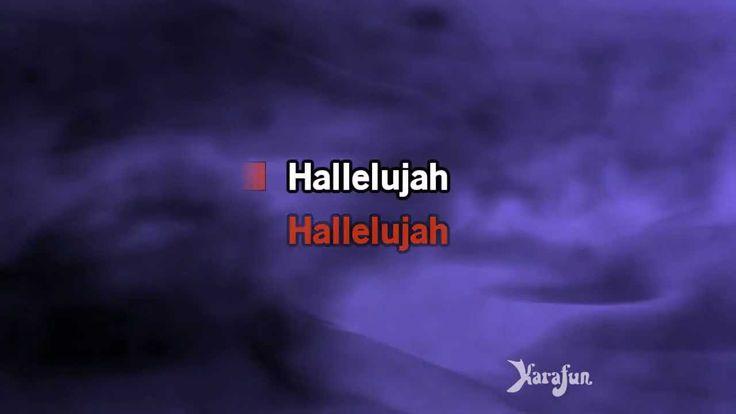 Download MP3: http://www.karaoke-version.com/mp3-backingtrack/leonard-cohen/hallelujah.html Sing Online: http://www.karafun.com/karaoke/leonard-cohen/hallelu...