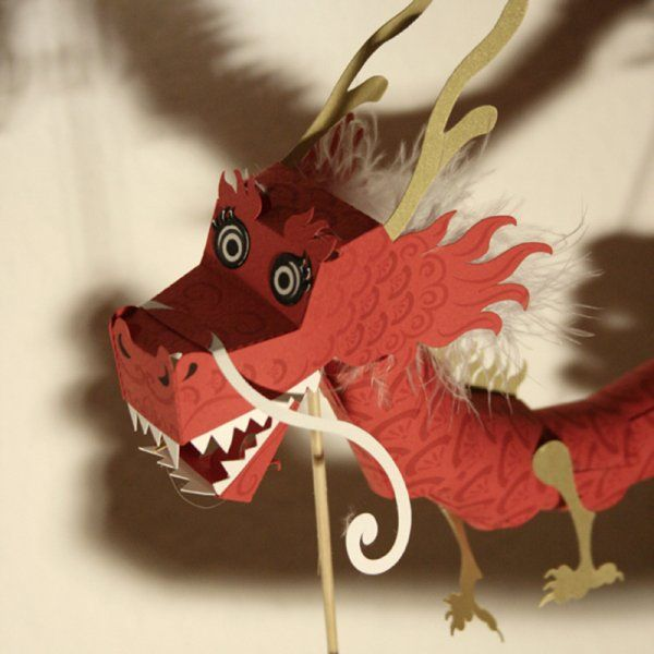 Un dragon en papier / a paper dragon