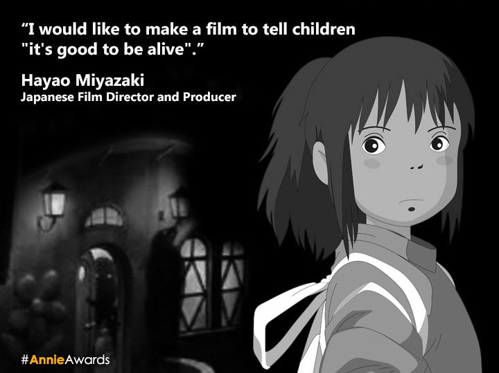 Spirited Away Quotes Amazing Hayao Miyazaki Quotes  Google Search  Anime  Pinterest  Hayao .
