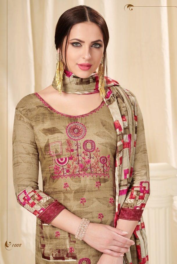 82411fe24e Buying Wholesale · Cotton Silk · New Arrival Collection :- Deepsy Florent  Vol-19 Pashmina Print Suits Catalog name: