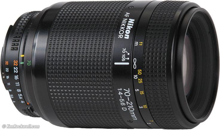 Nikon 70 - 210 mm f/4 - 5.6 D
