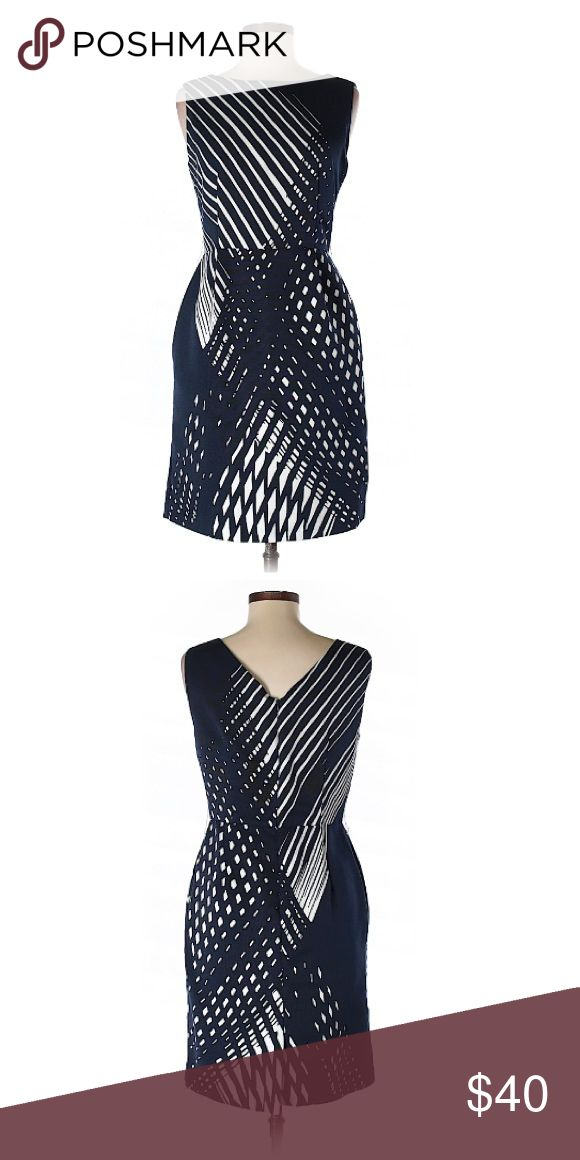 🌟Chetta B🌟 xoxo Gossip Girl Be prepared for compliments when you wear this Chetta B dress.   🌟 Description     • Sheath     • Boat neckline      • Dark blue     • Printed   🌟 Materials      • 100% Polyester   🌟 Condition       • Gently used. Chetta B Dresses