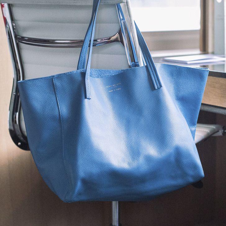 Violet Horizontal Tote Blue Tote Bag By Kurt Geiger London | Kurt Geiger ❤️❤️