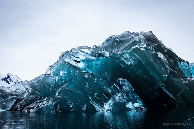 Dark Ice - Flipped Iceberg by Alex Cornell