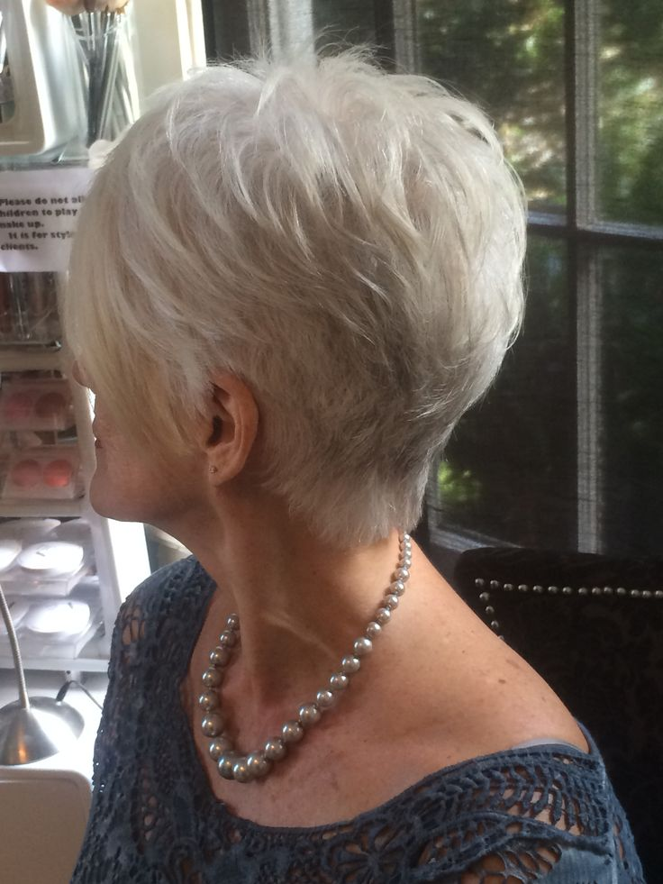 #greyhair ##hairstyles for over 40