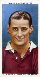 1935-36 W.D. & H.O. Wills Association Footballers #45 Tommy Walker  Front
