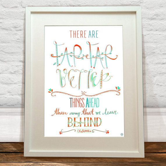 CS Lewis Art Print by FelicityMildred on Etsy