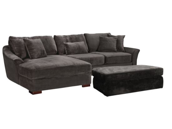 Double Wide Chaise Sectional