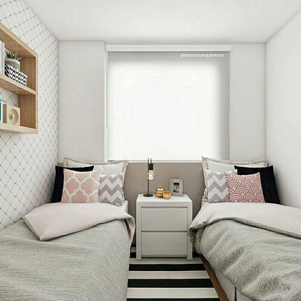 23 Encantadoras Habitaciones Compartidas Para Nino Y Nina Mil Ideas De Decoracion Habitaciones Compartidas Habitacion Con Dos Camas Habitaciones Compartidas Para Ninos