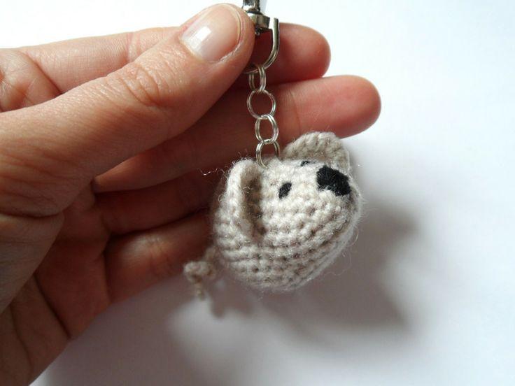 Brelok mysz 046 w LolaArtStudio na DaWanda.com