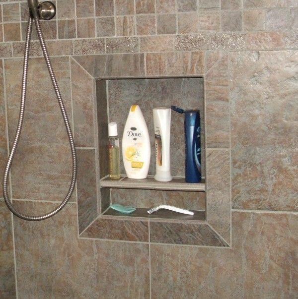 Stone Cold Tile Inc Shower Niches Soap Dishes Seats Shower Niche Shower Renovation Bathroom Shower Design